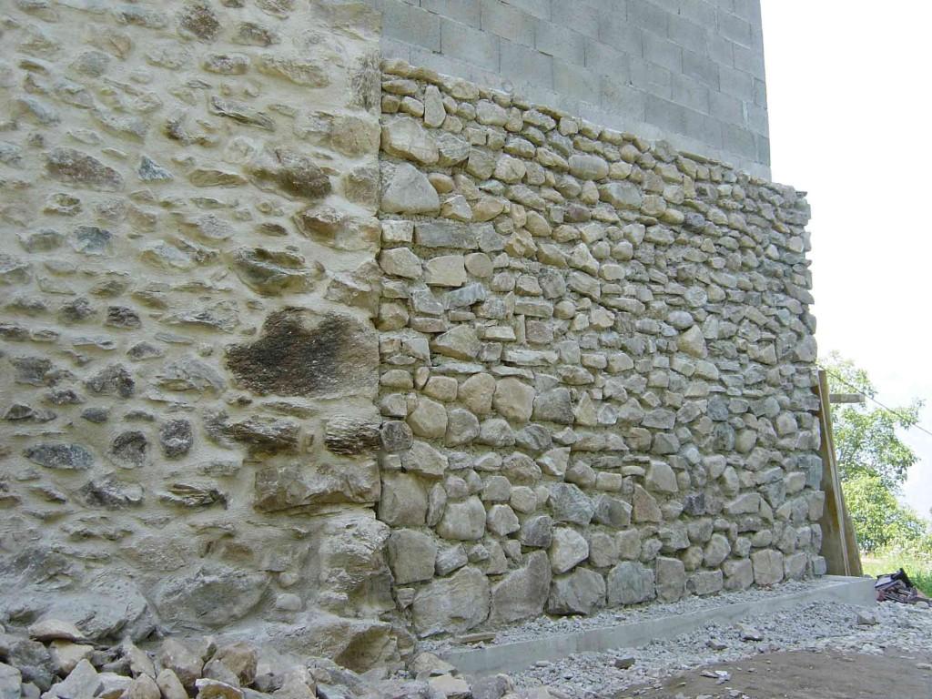 Mur en pierre grenoble et sa r gion for Construire mur en brique
